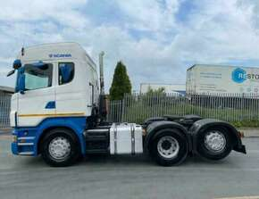 2007 Scania R500 Rear Lift Highline Tractor Unit
