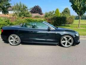 2010 Audi A5 SLine Convertible, 95000 miles Stunning