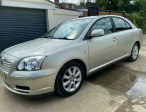 2003 Toyota Avensis T3-S 5 DR 1.8 Petrol