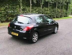2010 Peugeot 308, Hatchback, Manual, 1560 diesel, aircon, 5 doors