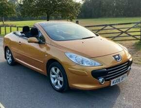 2006 Peugeot 307 CC Coupe, Convertible, 12 Months Mot, Low Mileage