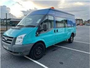 2010 Ford Transit, Panel Van, Manual, 2402 (cc)