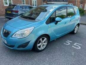 2010 Vauxhall Meriva, Mpv, Manual, 1248 (cc), 5 Doors
