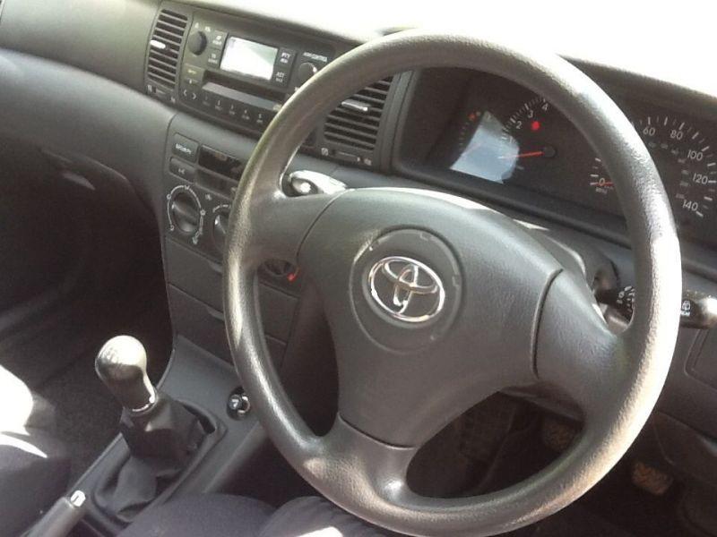 2003 Toyota Corolla 1.6vvti T3 Manual /03 image 2