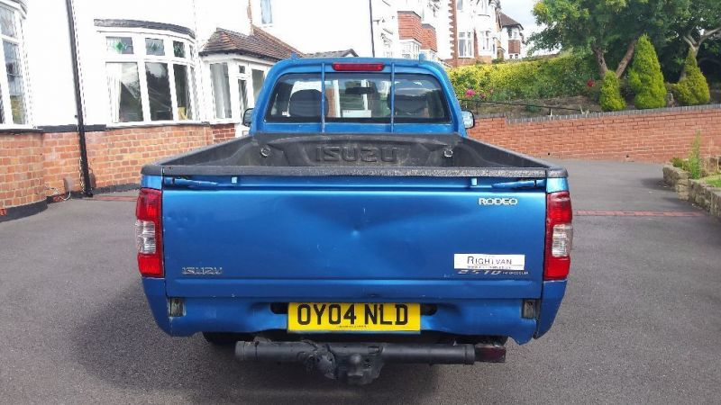 2004 Isuzu Rodeo TD 4x2 Single Cab Pick Up Truck ( ) image 4