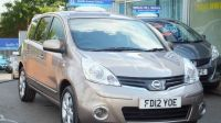 2012 NISSAN NOTE 1.4
