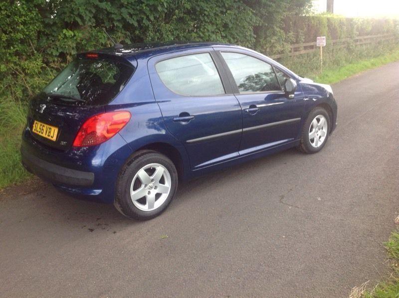 2006 Peugeot 207 1.4 sport blue 5 door image 2