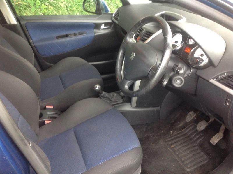 2006 Peugeot 207 1.4 sport blue 5 door image 5