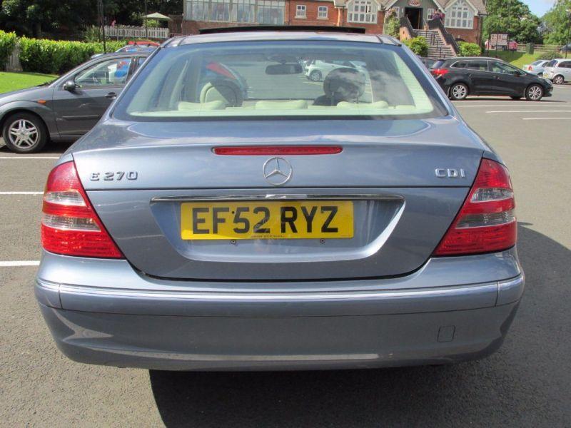 2003 Mercedes-Benz 2.7 E270 CDI Elegance image 3