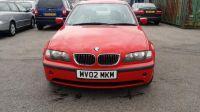 2002 BMW 3 SERIES 2.2 320I SE 4d