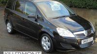 2008 Vauxhall Zafira 1.6 16v Exclusiv 5dr