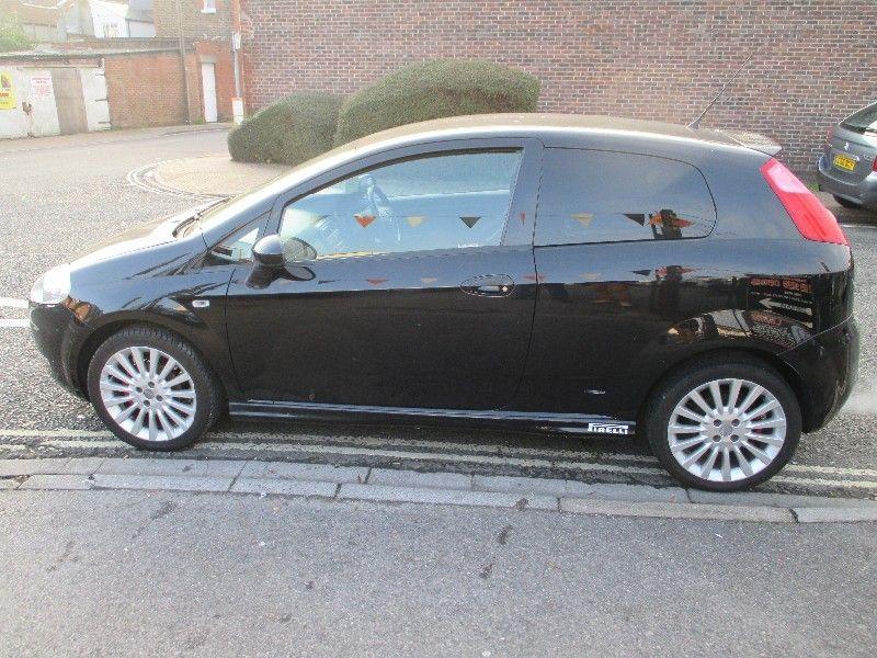 2006 Fiat Punto 1.4 16v Sporting 3d image 2