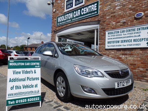 2012 Vauxhall Astra 1.7 CDTi 16V ecoFLEX ES image 1