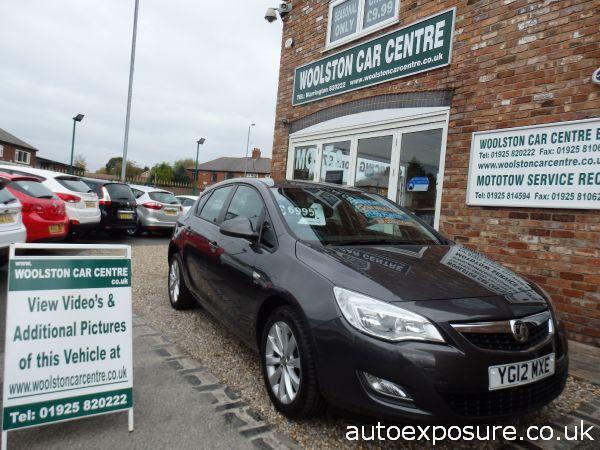 2012 Vauxhall Astra 1.4i 16V Active image 1