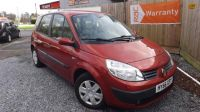 2006 RENAULT SCENIC 1.6 EXPRESSION VVT 5d