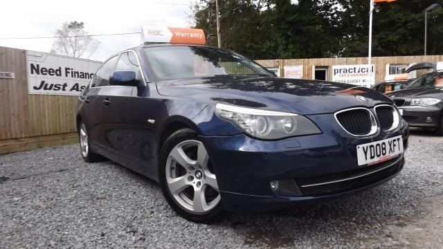 2008 BMW 5 SERIES 2.0 520D SE 4d image 1