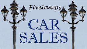 dealer Five Lamps Car Sales